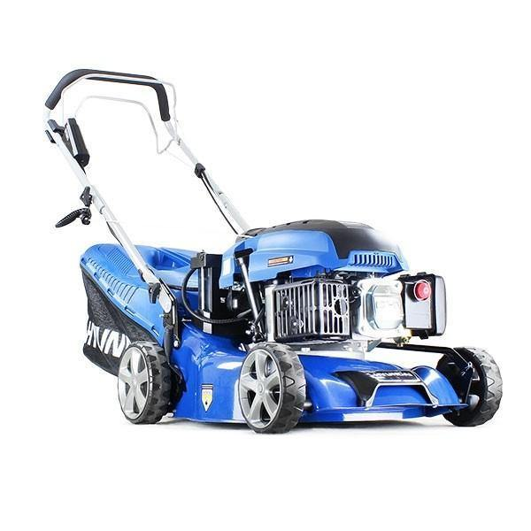 "Hyundai HYM430SPE 17"" 42cm Self Propelled Electric Start 420mm Petrol Lawn Mower"