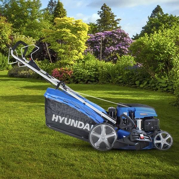 Hyundai HYM460SPE Self Propelled Electric Start Petrol Lawn Mower - HWB Car Parts