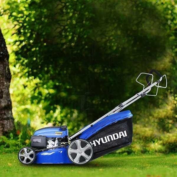 "Hyundai HYM460SP Lawn Mower Self Propelled 18"" 460mm 46cm 139cc Petrol lawnmower"
