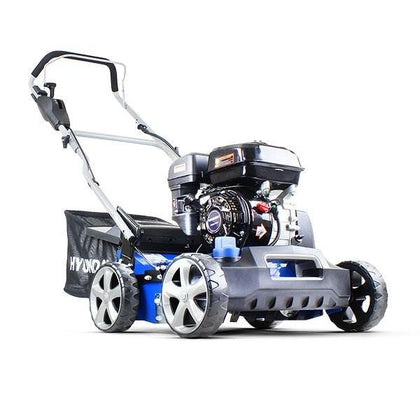 Refurbished Hyundai HYSC210 Petrol Lawn Scarifier and Aerator - HWB Car Parts