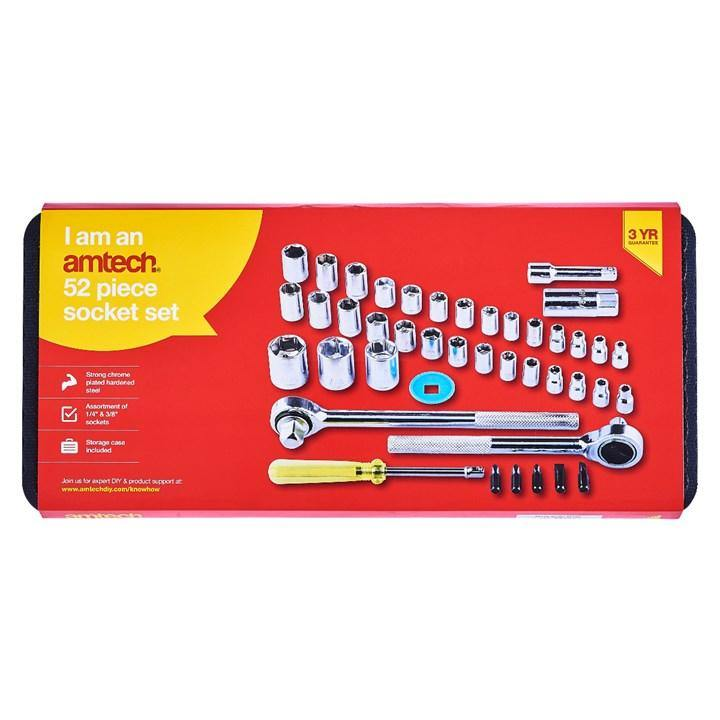52pc Socket Set - HWB Car Parts