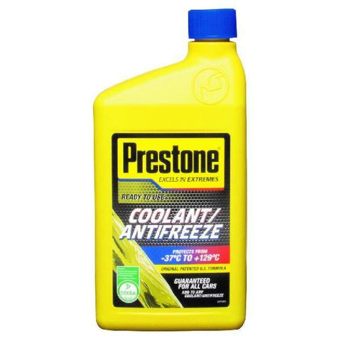 Prestone Ready To Use Coolant/Antifreeze 1ltr (Can mix with any colour)