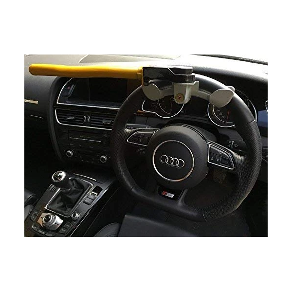 Rotary Style Steering Wheel Lock - HWB Car Parts