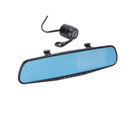 Mirrored Front & Rear Dash Cam - HWB Car Parts