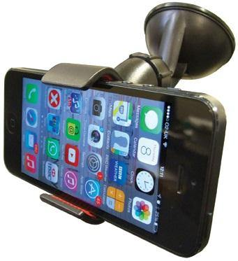 Universal Suction Mount Gadget Holder