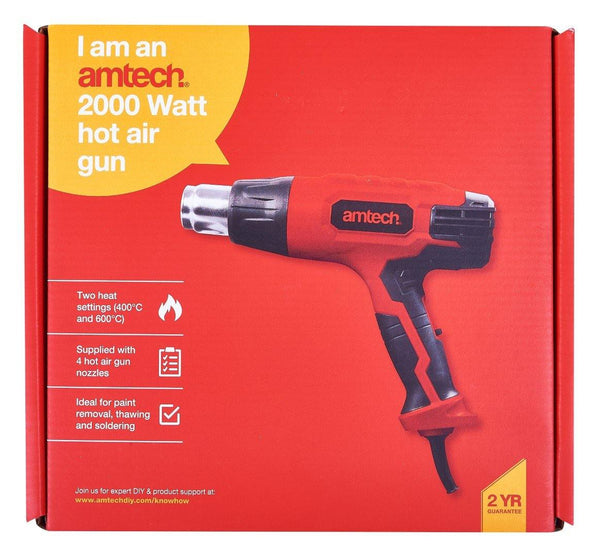 2000W 2 Heat Settings Hot Air Gun - HWB Car Parts
