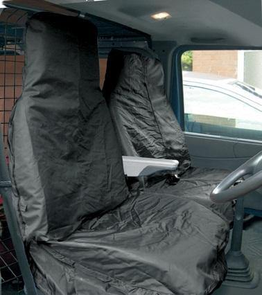 Van Seat WR Cover Set - Black - HWB Car Parts