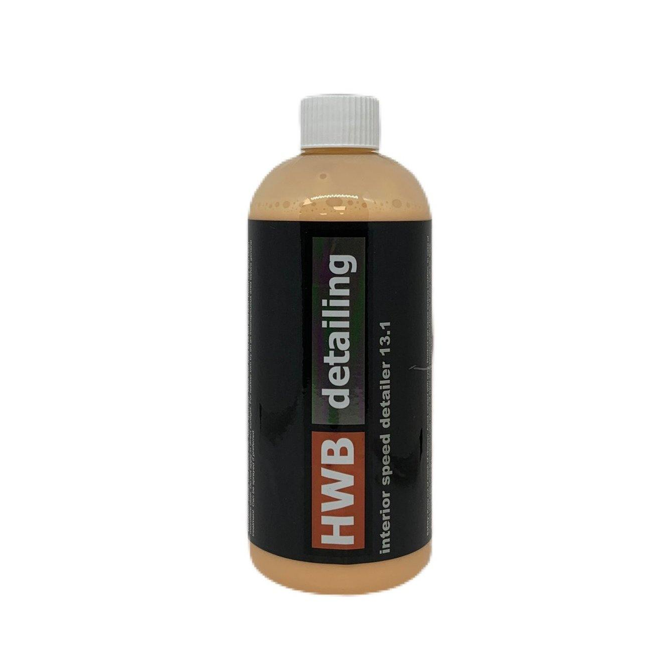 13.1 HWB Detailing Interior Speed Detailer - HWB Car Parts