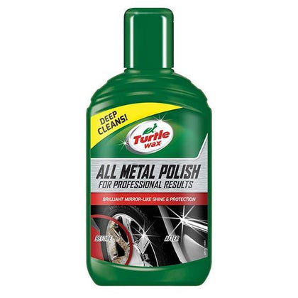 Turtlewax All Metal Polish 300ml - HWB Car Parts