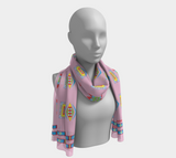 "Hiitche ""Pink I am fearless"" SweetSageWoman Scarf"