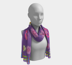 """I Love Me!"" SweetSageWoman Long Scarf"