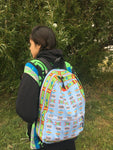 "Baaalaxiileetash ""I am Fearless"" Backpack"