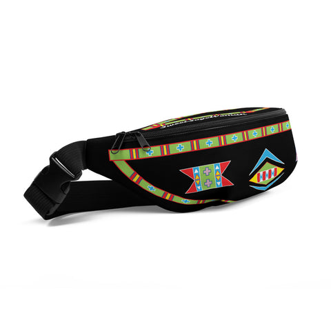 "Shipite ""Black"" I am Fearless Fanny Pack"
