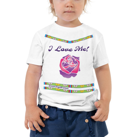 """I Love Me!"" Toddler Short Sleeve Tee"
