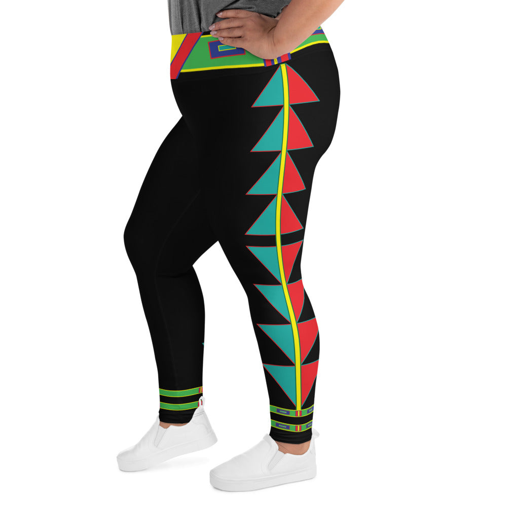 Centered Plus Size Leggings