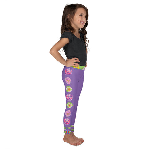 """I Love ME!"" Sweet Sage Woman Kid's Leggings"