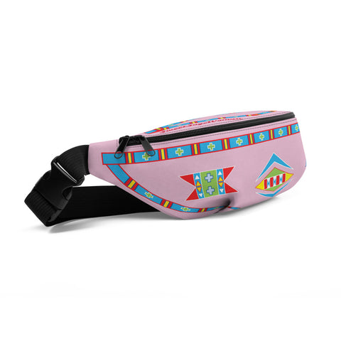 "Hiitche Pink ""I am Fearless"" Fanny Pack"