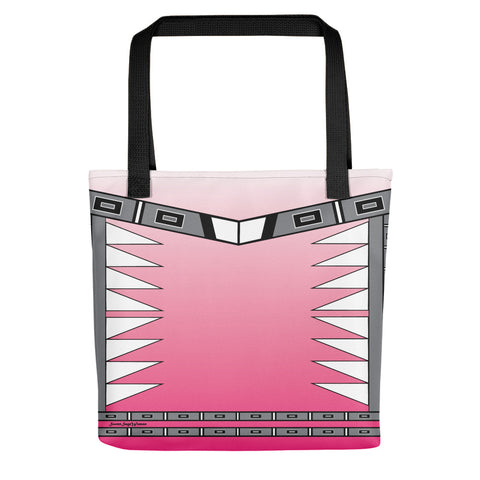 Centered Pink fade Tote bag