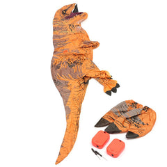 Inflatable Dinosaur T-REX Adult Models Air Blowing Up Costume