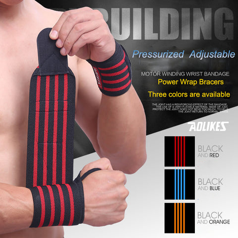 Weight Lifting Wristband, Sport Wrist Support Fitness Bandage Hand Protective - MooBooExpress