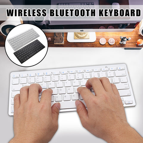 Wirelss Bluetooth Keyboard For iOS Android Devices - MooBooExpress
