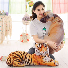 Honana 3D Simulation Animal Pillow, Plush Printed Cute Cushion