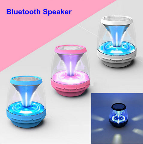 Mini Portable LED Radio Prompt Bass Bluetooth Speaker - MooBooExpress