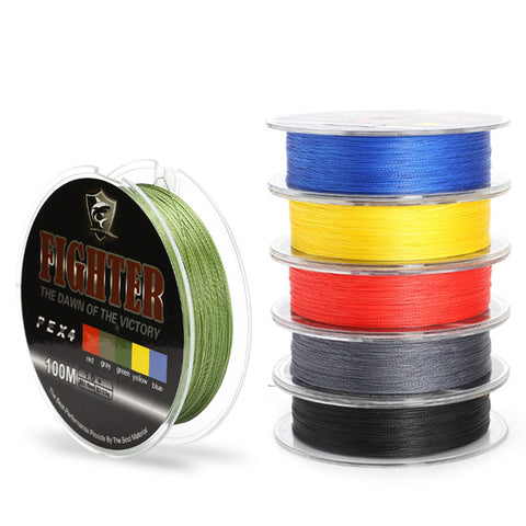 SeaKnight 100M Braided Fishing Line, 4 Stands 8-60LB Fishing Line
