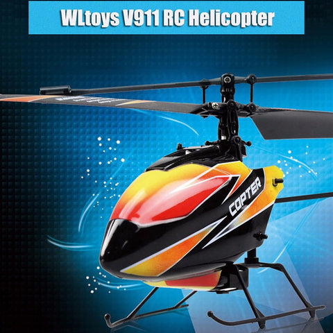 WLtoys Remote Control RC Helicopter with Gyro Mode 2 - MooBooExpress