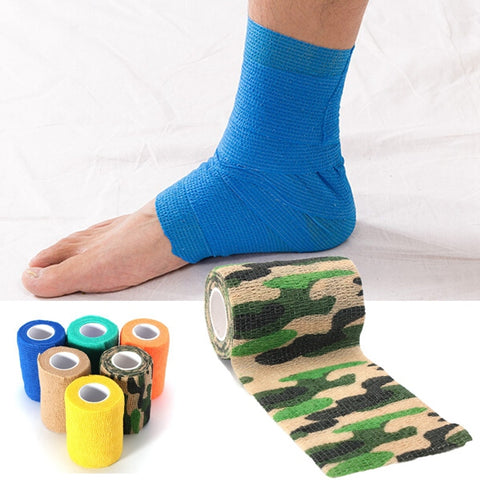 Multicolor Sports Self-adhesive Elastic Gauze Tape - MooBooExpress