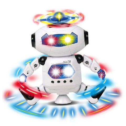 Electric Intelligent Multi color Cool Dancing Robot Toy - MooBooExpress