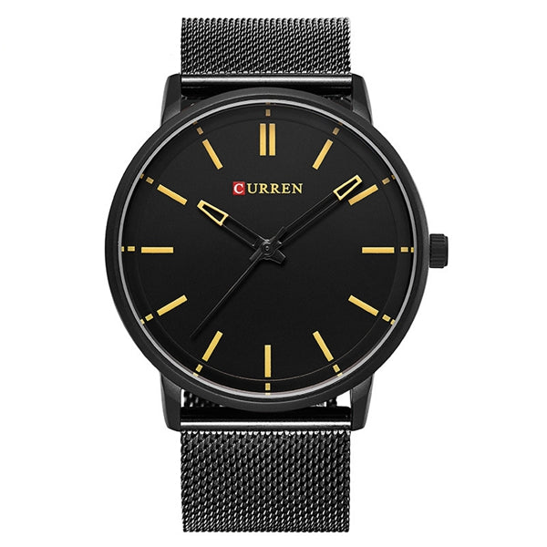 Curren Fashion Alloy Band Men Wrist Watch, Casual Male Analog Watch