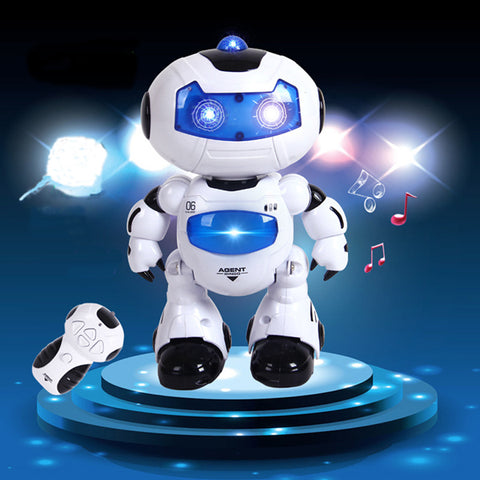 Electric Intelligent Robot, Remote Controlled RC Dancing Robot - MooBooExpress