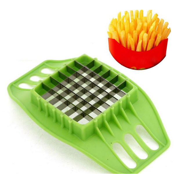 Honana Fries Potato Chip Slicer Maker Fruit Vegetable Cutter Chopper Kitchen Tool