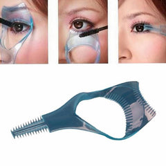 3in1 Mascara Applicator Guide Tool Eyelash