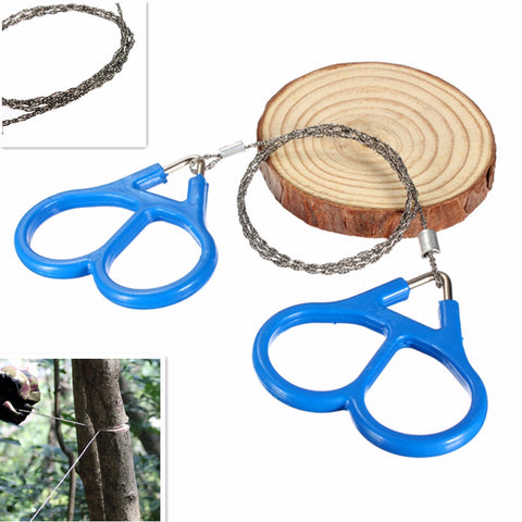 IPRee Steel Wire Saw Outdoor Hiking Camping Survival Portable Tool