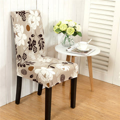 Honana Elegant Flower Elastic Stretch Chair Seat Cover, Home Decor