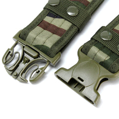 Mens Military Tactical Belt, Swat Hunting Outdoor Sports Belt