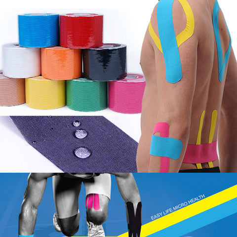 Sports Kinesiology Tape, Muscle Care Adhesive Bandage