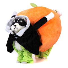 Pumpkin Pet  Clothes Small Dog Cat Jumpsuit Costume