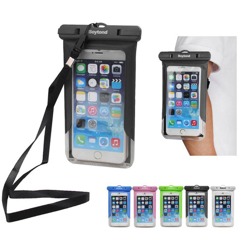 Waterproof Pouch Dry Bag Case Cover, Armband For Cell Phone - MooBooExpress