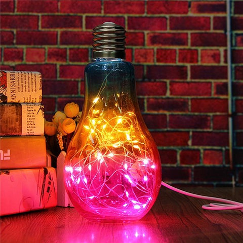 USB LED Globe Ball Bulb Fairy Light Decor - MooBooExpress