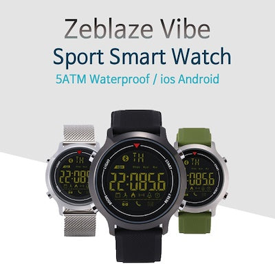 Zeblaze Hiking Waterproof Sport Smart Watch for Android & iOS