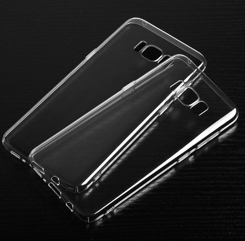 Ultra Thin Clear Transparent Hard PC Back Case Cover for Samsung Galaxy S8 - MooBooExpress