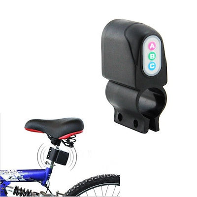 Bicycle Motor Bike Security Alarm, Sound Cycling Lock