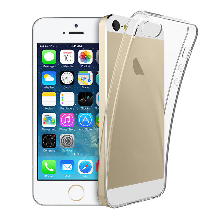 Ultra Thin Clear Transparent Shockproof Soft Case for iPhone 5 5S SE