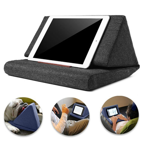 Foldable Pillow Anti-slip Stand Desktop Phone Lazy Holder for Smart Phone Tablet - MooBooExpress