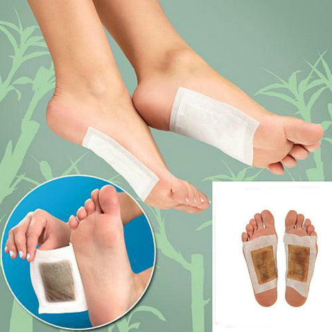 40Pcs Detox Foot Pads Detoxification Patches Feet Care - MooBooExpress