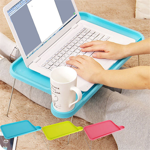 Foldable Plastic Desk Laptop Table Stand - MooBooExpress