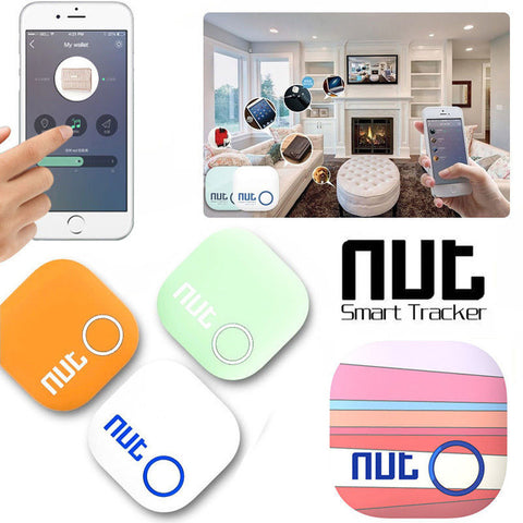 Mini Smart Alarm Tag Bluetooth Nut 2 Tracker Locator Anti Lost Key Finder - MooBooExpress